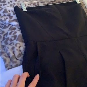 Topshop Pants & Jumpsuits - Strapless Black Jumpsuit